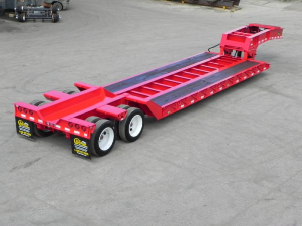 image of red trailer